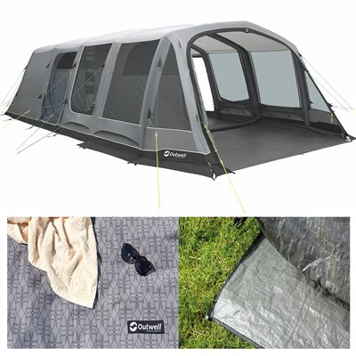 Outwell Belleville 7SA Air Tent Package Deal 2019  - Click to view a larger image