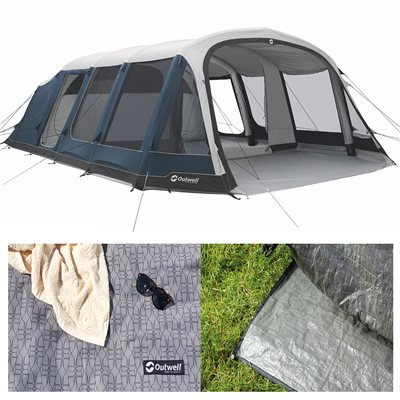 Outwell Stone Lake 7ATC Air Tent Package Deal 2019  - Click to view a larger image