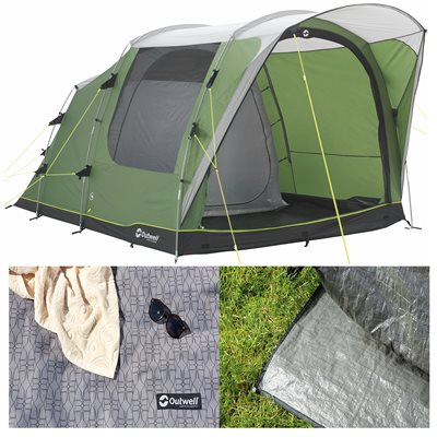 Outwell Franklin 3 Tent Package Deal 2019  - Click to view a larger image
