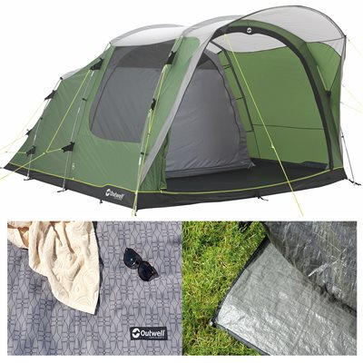 Outwell Franklin 5 Tent Package Deal 2019  - Click to view a larger image