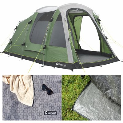 Outwell Dayton 4 Tent Package Deal 2019  - Click to view a larger image