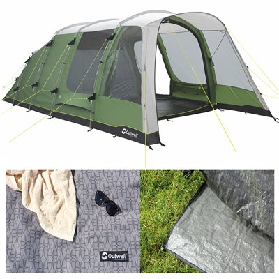 Outwell Willwood 5 Tent Package Deal 2019  - Click to view a larger image