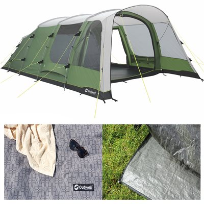 Outwell Willwood 6 Tent Package Deal 2019  - Click to view a larger image