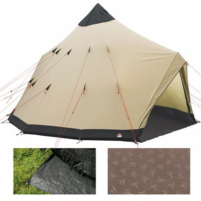 Robens Apache Tipi Tent Package Deal 2019  - Click to view a larger image