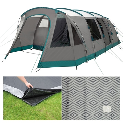 Easy Camp - Palmdale 600 Lux Tent Package Deal 2019