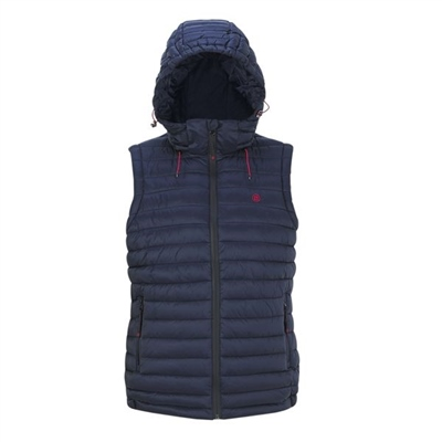 Blaze Wear Men's Traveller Gilet - Navy  - Click to view a larger image