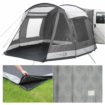Easy Camp Shamrock Drive-away Awning Package Deal 2019   - Click to view a larger image