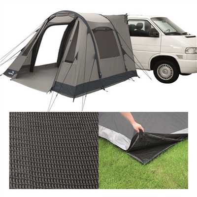 Easy Camp Tempest M Drive-away Awning Package Deal 2019   - Click to view a larger image