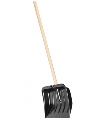Camping World Wooden Handle Snow Shovel  - Click to view a larger image