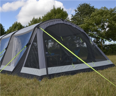 Kampa Croyde 6 Air Pro Mesh Vestibule 2019  - Click to view a larger image