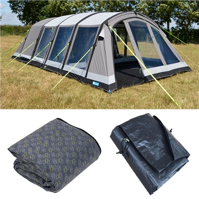 Kampa Croyde 6 Classic Air Pro Tent Package Deal 2019  - Click to view a larger image