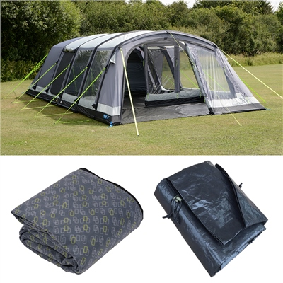 Kampa Croyde 6 Air Pro Tent Package Deal 2019  - Click to view a larger image