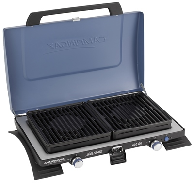 Campingaz Series 400 SG Double Burner & Grill   - Click to view a larger image