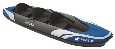Sevylor Hudson 2+1 Inflatable Kayak 2019  - Click to view a larger image