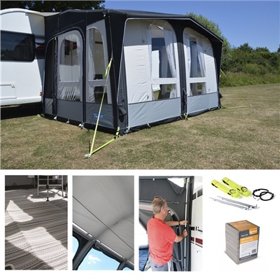 Kampa Club Air PRO 330 Awning Package Deal 2019  - Click to view a larger image