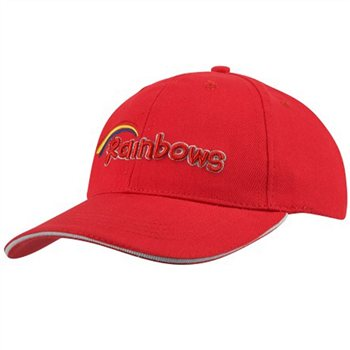 David Luke Rainbow Cap  - Click to view a larger image