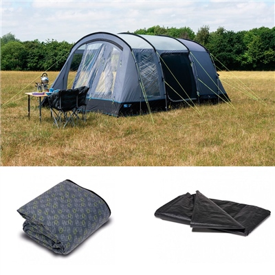 Kampa Dometic Texel 4 Tent Package Deal 2019  - Click to view a larger image