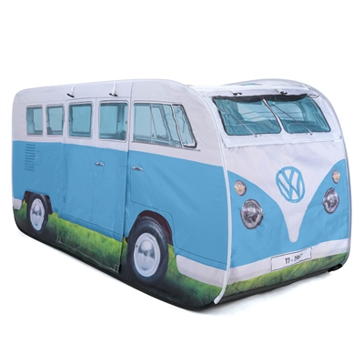 VW Camper Van Kids Pop Up Play Tent  - Click to view a larger image