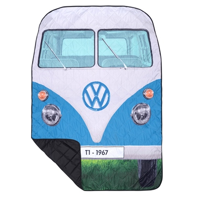 VW Quilted Picnic Rug  - Click to view a larger image
