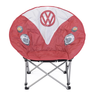 VW Folding Moon Chair - Red