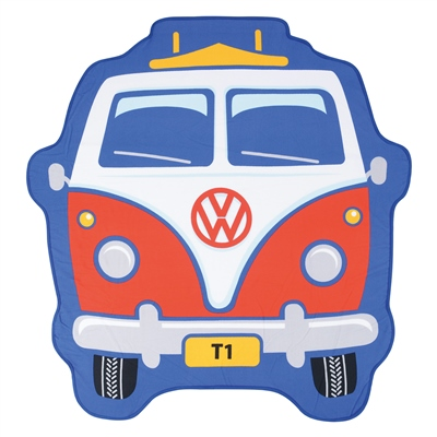 VW Large Bus Front Towel  - Click to view a larger image
