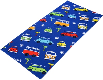 VW Kids Beach Towel  - Click to view a larger image