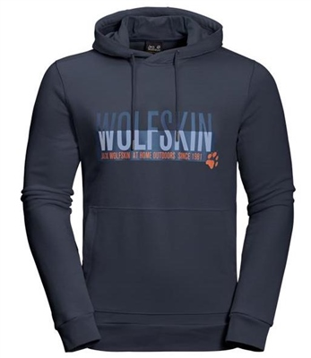 Jack Wolfskin Slogan Hoody   - Click to view a larger image