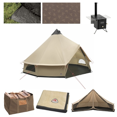 Robens Klondike Grande Tipi Ultimate Tent Package  - Click to view a larger image