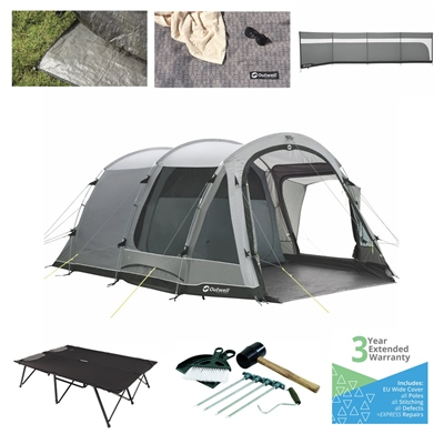 Outwell Nevada 5P Ultimate Tent Package  - Click to view a larger image