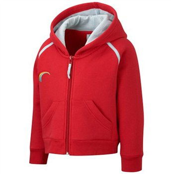 David Luke Rainbow Hooded Top