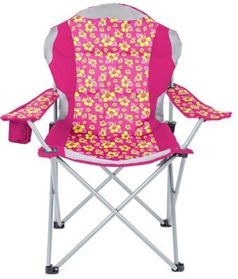 Yello Deluxe Padded Camping Chair   - Click to view a larger image