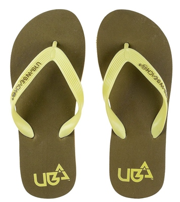 Urban Beach Boys Royale Brown Flip Flops   - Click to view a larger image