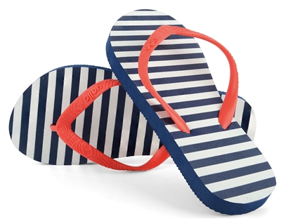 Yello Girls Stripes Flip Flop  - Click to view a larger image