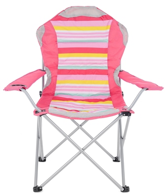 Yello Deluxe Stripe Chair  - Click to view a larger image