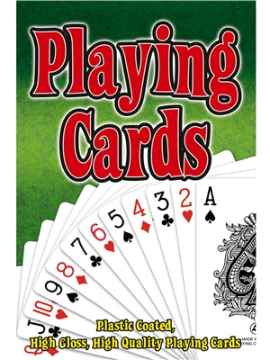 Toyrific Plastic Coated Playing Cards  - Click to view a larger image