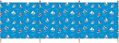 Yello 4 Pole Sailboat Windbreak   - Click to view a larger image