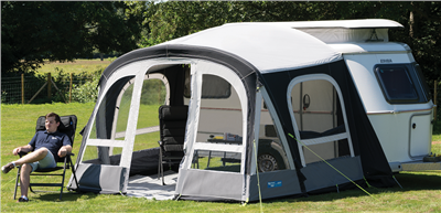 Kampa Pop Pro Air 340 Caravan Awning 2018  - Click to view a larger image