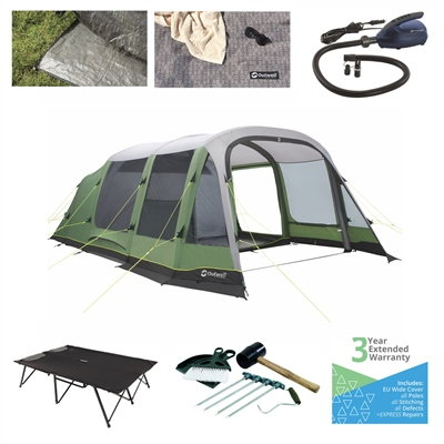 Outwell Chatham 6A Ultimate Tent Package  - Click to view a larger image