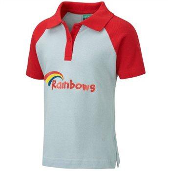David Luke Rainbow Polo Shirt  CampingWorld.co.uk
