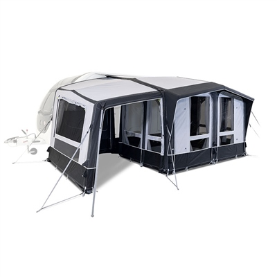 Kampa Dometic Club AIR All Season Extension 2020 Left Hand - Click to view a larger image