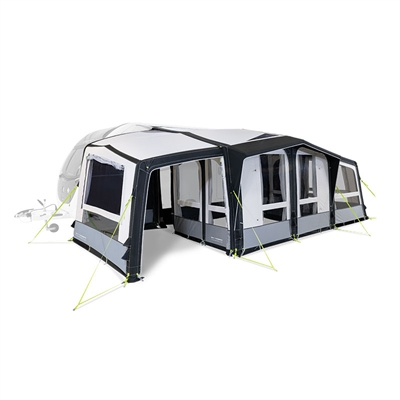 Kampa Dometic Club AIR Pro Extension 2020 Left Hand - Click to view a larger image