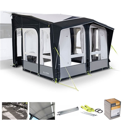 Kampa Dometic Club AIR Pro 330 Caravan Awning Package Deal 2020   - Click to view a larger image