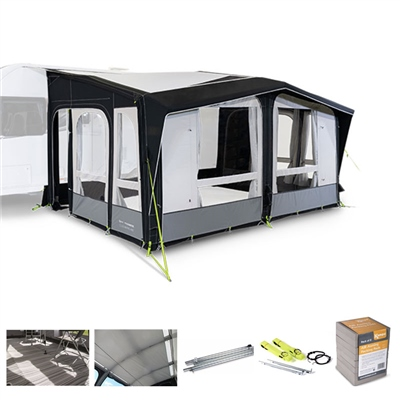 Kampa Club AIR Pro 450 Caravan Awning Package Deal 2020   - Click to view a larger image