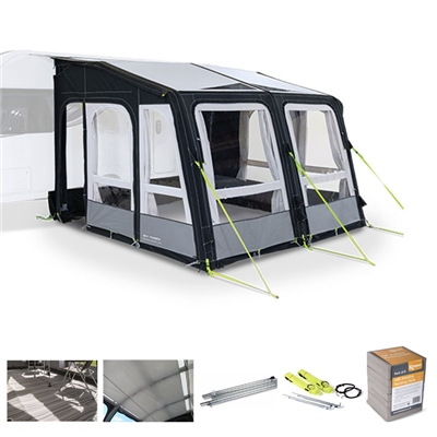 Kampa Dometic Grande AIR Pro 330 Caravan Awning Package Deal 2020  - Click to view a larger image