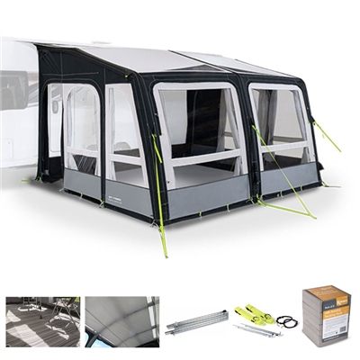 Kampa Dometic Grande AIR Pro 390 Caravan Awning Package Deal 2020  - Click to view a larger image