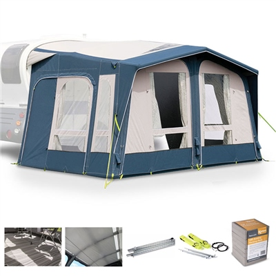 Kampa Dometic Mobil AIR Pro 361/391 Caravan Awning Package Deal 2020  - Click to view a larger image