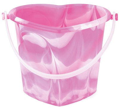 Yello Heart Bucket   - Click to view a larger image