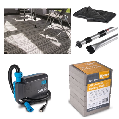 Kampa Dometic Rally AIR Pro 260 Accessory Bundle Deal 2020  - Click to view a larger image