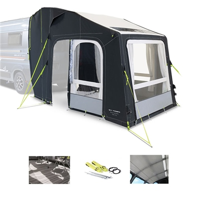 Kampa Dometic Rally AIR Pro 240 Tailgater Awning Package Deal 2020  - Click to view a larger image
