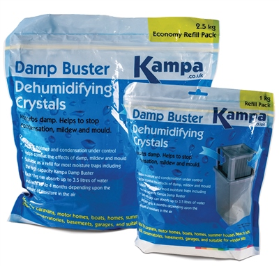 Kampa Damp Buster Refill Crystals   - Click to view a larger image